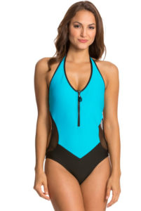 zip up front swim suit - Nautica style for Bali best-swimwear-and-bikinis-to-wear-this-summer
